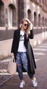 casual γυναικείο ντύσιμο χειμώνας