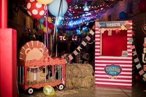 πάρτι με θέμα το τσίρκο