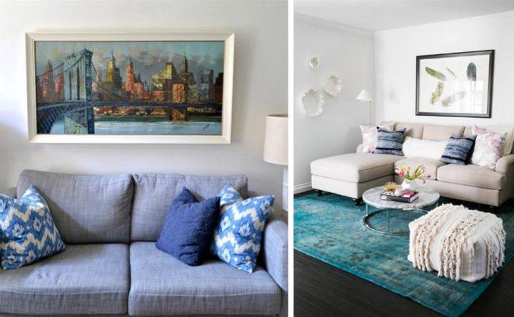 8 Μυστικά για να διακοσμήσεις τέλεια ένα μικρό σαλόνι!