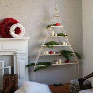 διακόσμηση Χριστούγεννα ράφια