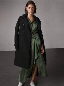 Μακρύ παλτό μαύρο