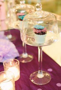 γαλάζιο cupcake
