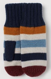 Γάντια πολύχρωμα ριγέ