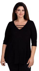 γυναικεία μπλούζα τρία τέταρτα μανίκι