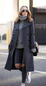 γυναικεία outfits με jean για χειμώνα