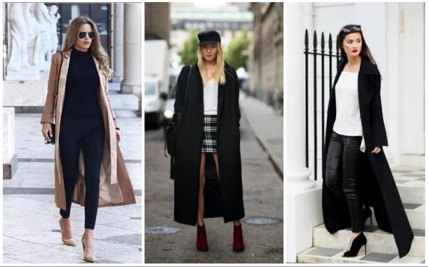 Με τι να συνδυάσεις ένα μακρύ γυναικείο παλτό!