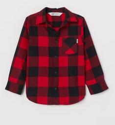 Καρό κόκκινο πουκάμισο
