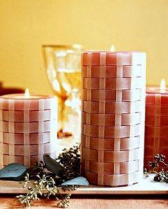 κερί με κερόχαρτο
