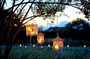 κεριά σε κλουβί