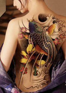 κόι τατουάζ