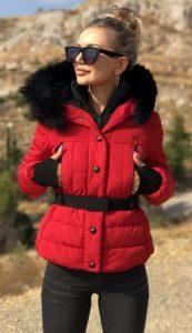 ζεστό γυναικείο μπουφάν 2020 ediva.gr