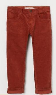 Κοτλέ παντελόνι κόκκινο