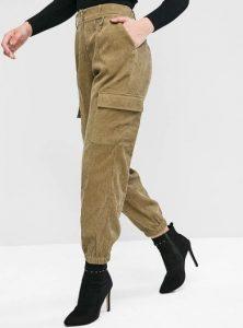 κοτλέ μπεζ παντελόνι τσέπες ρούχα για όλες τις ώρες