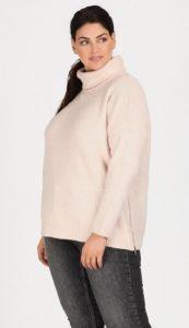 λευκή γυναικεία πλεκτή ζιβάγκο μπλούζα