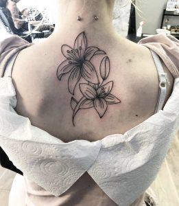 λουλούδια τατουάζ