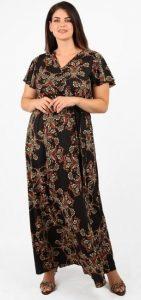 maxi κρουαζέ φόρεμα parabita 2020