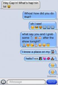 μήνυμα κινητό emojis