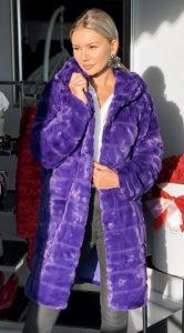 ζεστά γούνινα παλτό 2020