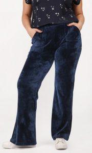 βελούδινο παντελόνι φόρμας παχουλές γυναίκες