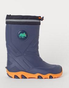 Μπότες αδιάβροχες μπλε