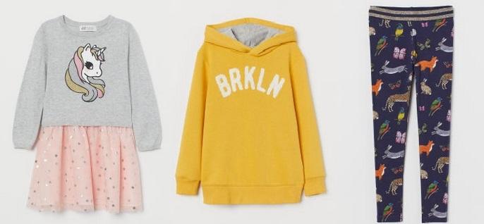 Παιδικά ρούχα H&M για φθινόπωρο-χειμώνα 2019-2020
