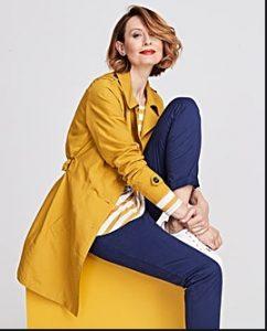 Παλτό μακρύ κίτρινο