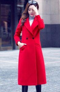 Παλτό μακρύ κόκκινο