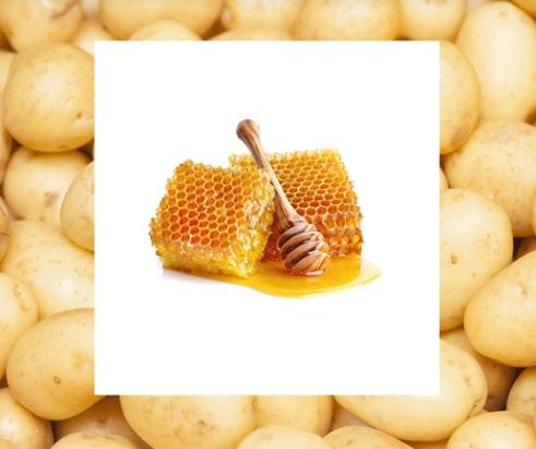 Πατάτα μέλι για λαμπερό πρόσωπο