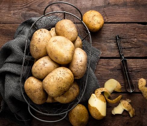 Πατάτες με μπολ