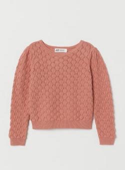 Μάλλινι ροζ μπλούζα