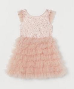 Παιδικό ροζ φόρεμα με τούλι