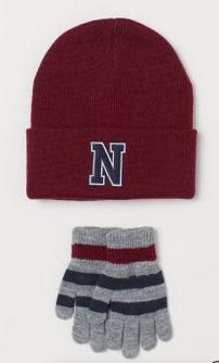 Σετ γάντια καπέλο