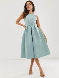σιέλ κομό φόρεμα