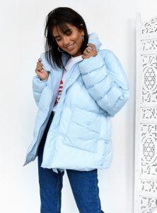σιελ μπουφάν φουσκωτό neon γυναικεία πανωφόρια χειμώνα