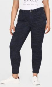 skinny γυναικείο jean μεγάλο μέγεθος parabita