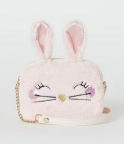 Τσάντα ροζ κουνελάκι