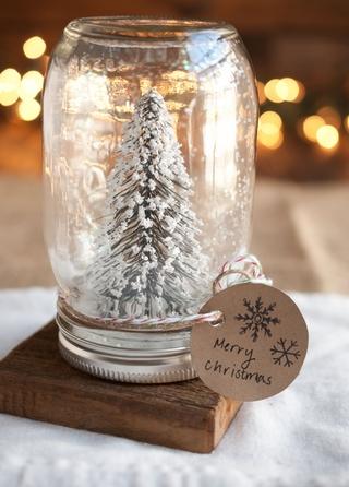 Χριστουγεννιάτικο δέντρο σε βαζάκι