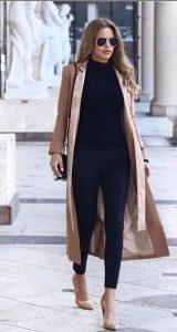 βραδινό γυναικείο ντύσιμο μακρύ γυναικείο παλτό