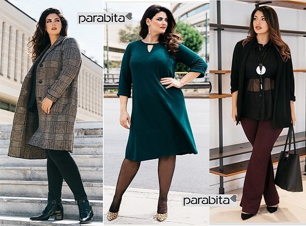 Γυναικεία Plus Size Ρούχα Parabita Χειμώνας 2019-2020