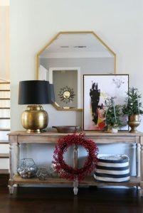 χριστουγεννιάτικο στεφάνι διακόσμηση σπιτιού