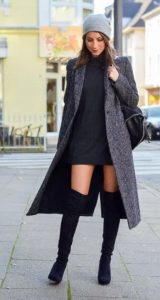ζιβάγκο φόρεμα χειμερινό outfit