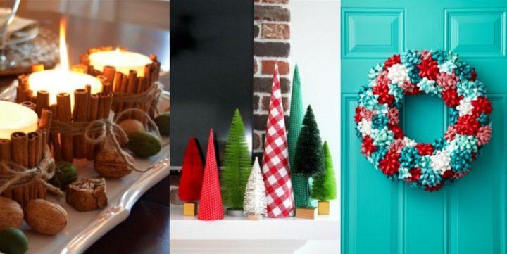 6 Απλές Χριστουγεννιάτικες κατασκευές!