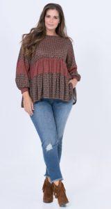 boho μπλούζες χειμώνας 2020