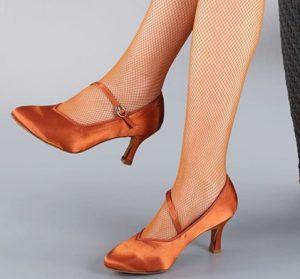 μπρονζέ ballroom παπούτσι
