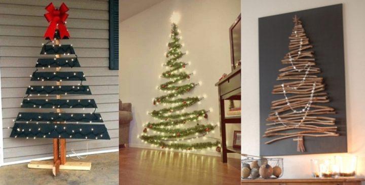 Ιδέες για εναλλακτικά χριστουγεννιάτικα δέντρα για κάθε σπίτι!