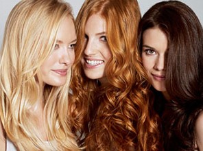 διαφορετικά χρώματα μαλλιών καστανά μαύρα κόκκινα