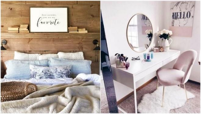 6 Μοναδικές ιδέες διακόσμησης για κλασική κρεβατοκάμαρα!