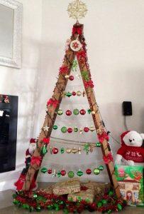 εναλλακτικά δέντρα Χριστουγέννων pinterest