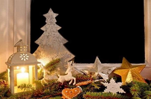 φαναράκια Χριστούγεννα διακόσμηση
