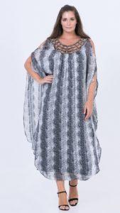 επίσημα φορέματα μουσελίνα μεγάλα μεγέθη